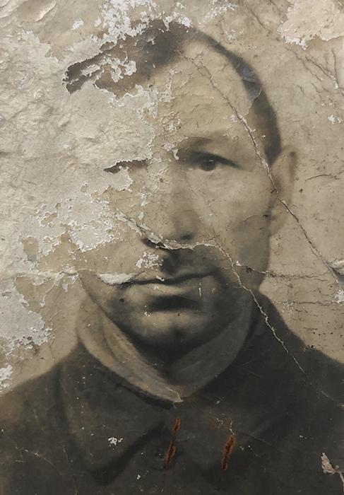 Jan Bącela - zdjęcie przed rekonstrukcją