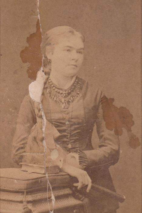 Maria Eleonora Reklewska - zdjęcie przed rekonstrukcją